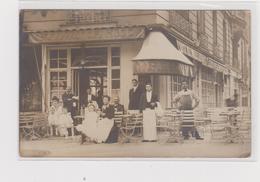 CAFE RESTAURANT VICTOR HUGO 4 PLACE VICTOR HUGO TRES ANIME TBE CARTE PHOTO - Pubs, Hotels, Restaurants