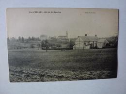 CPA, VUE D'EGLENY CÔTE DE SAINT-MAURICE, VOIR SCAN - France