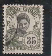 INDOCHINE 1907 Centre Et Valeur En Noir   N° 50 Oblitéré - Usados