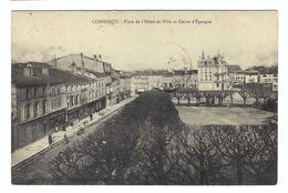 FRANCE 1914: CP Intéressante,  Affranchie De 10c., Avec 2 Beaux CAD ''ambulants'' Hexagonaux !!! - Storia Postale