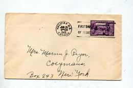 Lettre Fdc 1949 Halifax - ....-1951