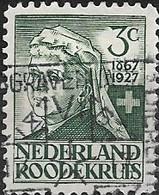 NETHERLANDS 1927 60th Anniversary Of Dutch Red Cross Society - 3c - (+2c.) Queen Emma  AVU - Oblitérés