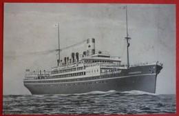 S.S. KONIGSTEIN - RED STAR LINE - Piroscafi