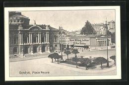 AK Geneve, Place Neuve, Aime Kling, Luthier, 12, Rue Diday - GE Genève