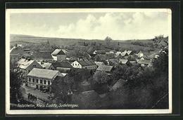 AK Netschetin / Sudetengau, Ortsansicht - Tsjechië