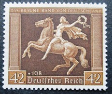 DR Braunes Band Mi.Nr. 671 Postfrisch ** M€ 150,-- - Non Classificati