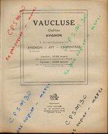 ANNUAIRE - 84 - Département Vaucluse - Année 1947 - édition Didot-Bottin - 82 Pages - Telephone Directories