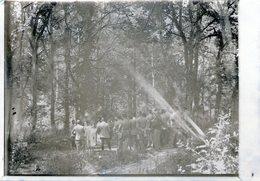 N° 43  Photo Originale . Procession .    ( 13 Cm X 9 Cm) - Guerre, Militaire