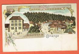 200 P - Souvenir De Ottange - Algrange - Thionville - Rumelange - Thionville