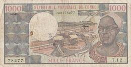 1000 F République Populaire Du Congo 1983 - Congo
