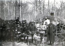 N° 59  Photo Originale . Soldats .    ( 8 Cm X 6 Cm) - Guerre, Militaire