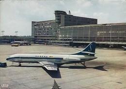 Carte Postale Aéroport Bruxelles (National Luchtaven Brussel-Nationaal) - Années 1960 - Non Circulée - Aeroporto Bruxelles
