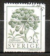 SUEDE  Angelique 1984 N° 1258 - Usati