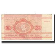 Billet, Bélarus, 50 Kapeek, 1992, KM:1, TTB - Belarus