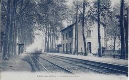LISLE SUR TARN :Intérieur De La Gare- Les Quais - Lisle Sur Tarn
