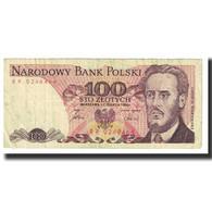 Billet, Pologne, 100 Zlotych, 1986, 1986-06-01, KM:143d, TB - Pologne