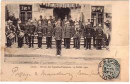 LUCEY  - Revue Des Sapeurs-Pompiers ,14 Juillet 1901 - Autres Communes