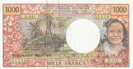 Billet 1000 F TAHITI   2006/2010 - Frankrijk