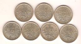 5 Francs Semeuse Argent - J. 5 Francs