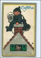 U9083/ Luftikus - Litho AK Verlag: Böhmisches Brauhaus  Bier  1916 - Cartoline