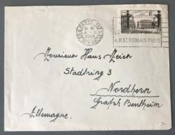 France N°778 Seul Sur Lettre De Paris 1949 Pour Nordhorn (Allemagne) - (B3291) - Poststempel (Briefe)