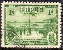 Papua 1934 1d SG146 - Fine Used - Papua Nuova Guinea
