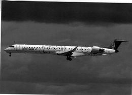 Brit Air/Air France  -  Bombardier CRJ.100NG  - F-HMLA C/n19004 At Orly,Paris 2011   -  CPM - 1946-....: Ere Moderne