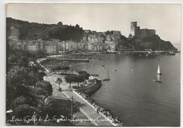 V4528 Lerici (La Spezia) - Lungomare E Castello - Panorama / Viaggiata 1959 - Autres Villes