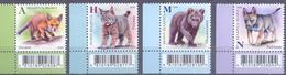 2020. Belarus, Wild Baby Animals, 4v, Mint/** - Bielorussia
