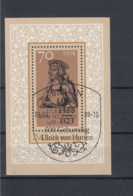 DDR Michel Kat.Nr. Block    Gest 93 SSt - [6] Repubblica Democratica