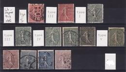 Lot Semeuse Lignée 1903 Obli  F648 - 1903-60 Semeuse Lignée