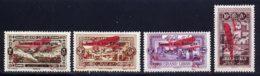 Grand Liban PA 1926 Yvert 17 / 20 * TB Charniere(s) - Gross-Libanon (1924-1945)
