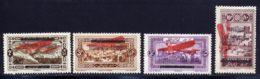 Grand Liban PA 1927 Yvert 21 / 24 * TB Charniere(s) - Gross-Libanon (1924-1945)