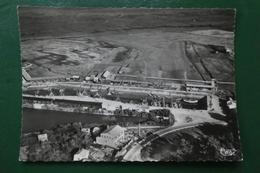 C 7 ) CLICHE RAY DEVERT  17  ST TROJAN VUE AERIENNE CARTE TIMBREE 1951 (ILE OLERON ) - Autres Communes