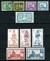 Indochina (Francesa) Nº 214/18-219/21-222/3* - Unused Stamps