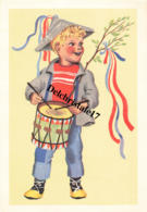 ENFANT JOUANT DU TAMBOUR - DE LA JOIE SUR LES MURS - LES GRANDES FRISES DU PÈRE CASTOR - LES ENFANTS MUSICIENS - Collections, Lots & Series