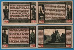 PÖSSNECK STADT 4x75pf  31.07.1921  NOTGELD - [11] Lokale Uitgaven