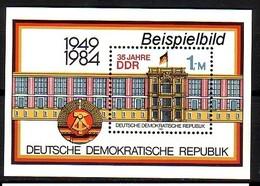 DDR Block 77 Postfrisch ** (K1) - Blocks & Kleinbögen