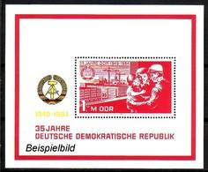 DDR Block 78 Postfrisch ** (K1) - Blocks & Kleinbögen