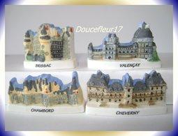 Chateau De La Loire Mat ... 4 Fèves ... Ref. AFF : 61-2007 ... (pan 003) - Regions