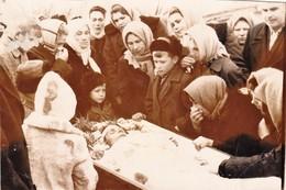 POST MORTEM  FUNERAL   Man   - Mort Cadavre  COFFIN  - Russia Russie Russian Old Photo - Anonyme Personen