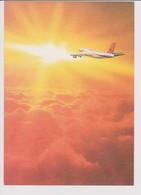 Vintage Rppc SAA, S.A.A.SAL South African Airways Boeing 747 Aircraft - 1946-....: Era Moderna
