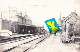 PATURAGES - La Gare - Carte Très Animée Et Circulé En 1922 - Colfontaine