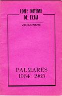 Vieux-Genappe  Ecole Moyenne De L'Etat - Verzamelingen