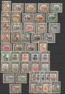 Nyassa Entre 1901-23 - 37 Timbres MH Différents + (10 Double Pas Comptés) (F) - Nyassaland