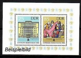 DDR Block 85 Postfrisch ** (K1) - Blocks & Kleinbögen