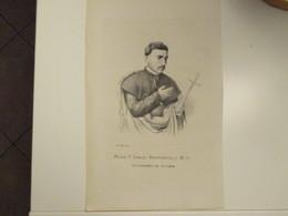Religione Antica Stampa Cristianesimo Mons F.Dario Bucciarelli M.O.Arecivescovo Di Scopia - Old Paper