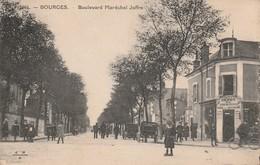 18/ Bourges - Boulevard Du Maréchal Joffre - Belle Animation - Bourges