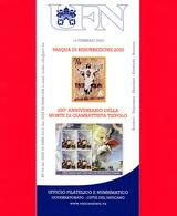 Nuovo - VATICANO - 2020 - Bollettino Ufficiale - Pasqua - Tiepolo - BF 03 - Cartas
