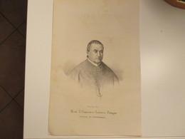 Religione Antica Stampa Cristianesimo Mons. D.Francesco Saverio PETAGNA Vescovo Di Castellammare - Alte Papiere